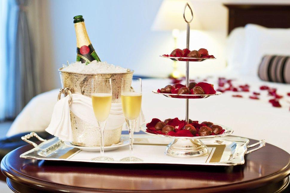 День святого Валентина в The Ritz-Сarlton, Almaty
