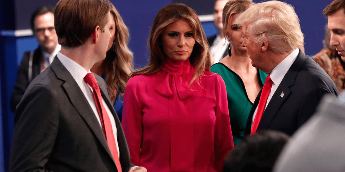 Кейт Миддлтон повторила образ Мелании Трамп