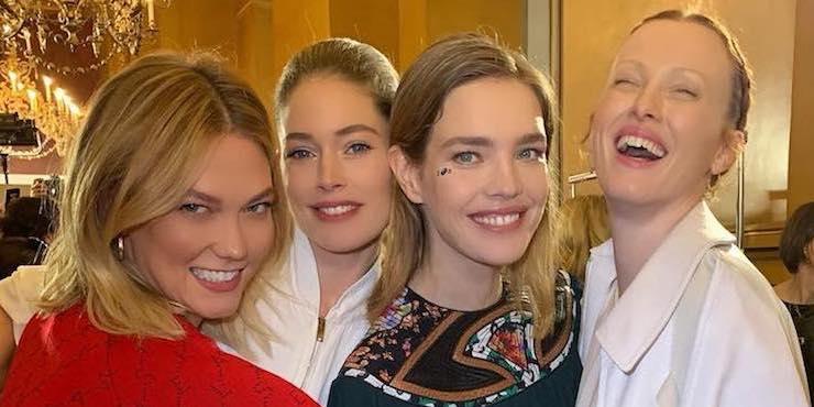 Знаменитые гости парижской Недели моды