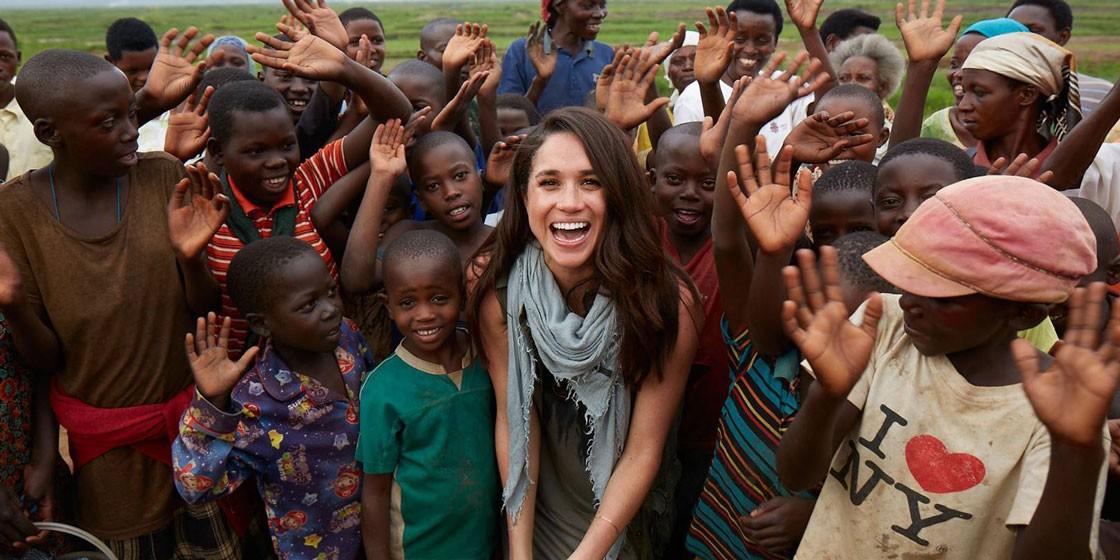 Меган Маркл и принц Гарри переезжают в Африку