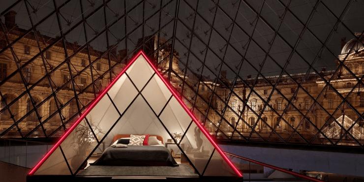 Ночь в музее: каждый желающий может переночевать в Лувре