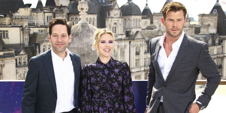 Образ дня: Скарлетт Йоханссон на премьере «Мстителей»