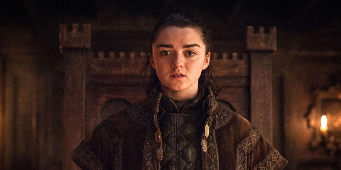 Вам понравится реакция Мэйси Уильямс на финал «Игры престолов»