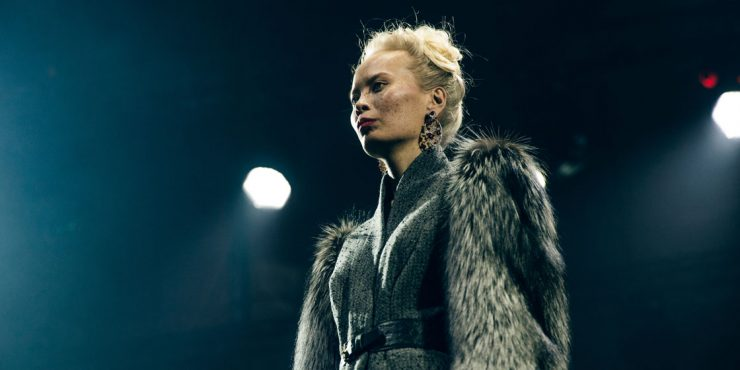 Казахстанские модели на показе Ulyana Sergeenko в Катаре