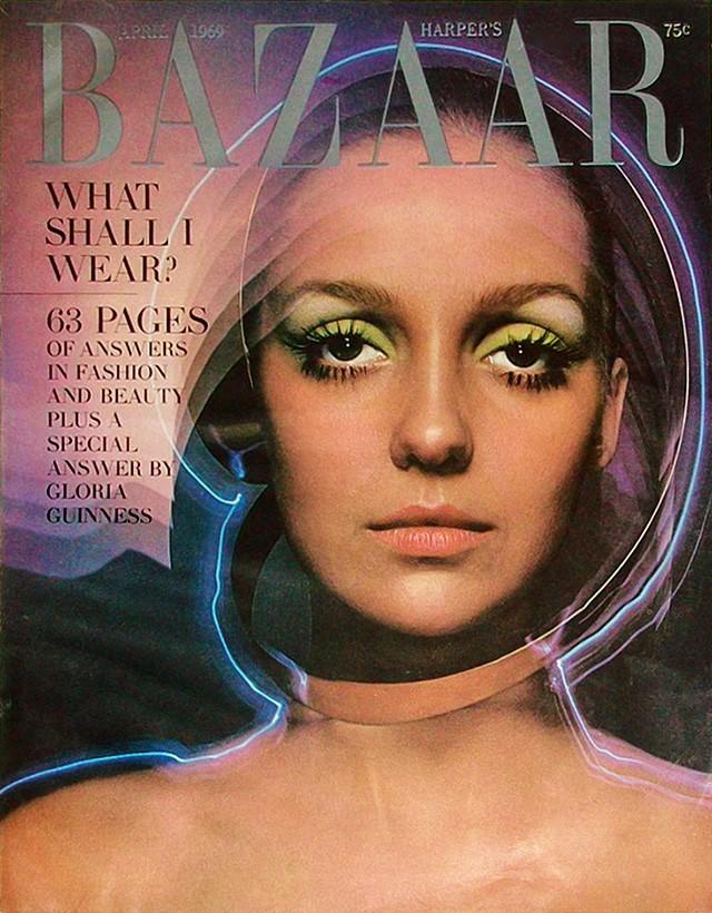 Это BAZAAR: обложка апрельского номера 1969 года