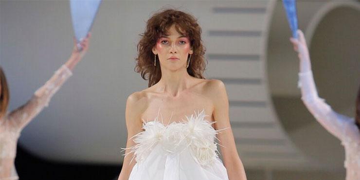 Нео-невеста: 19 лучших коротких платьев из свадебных коллекций