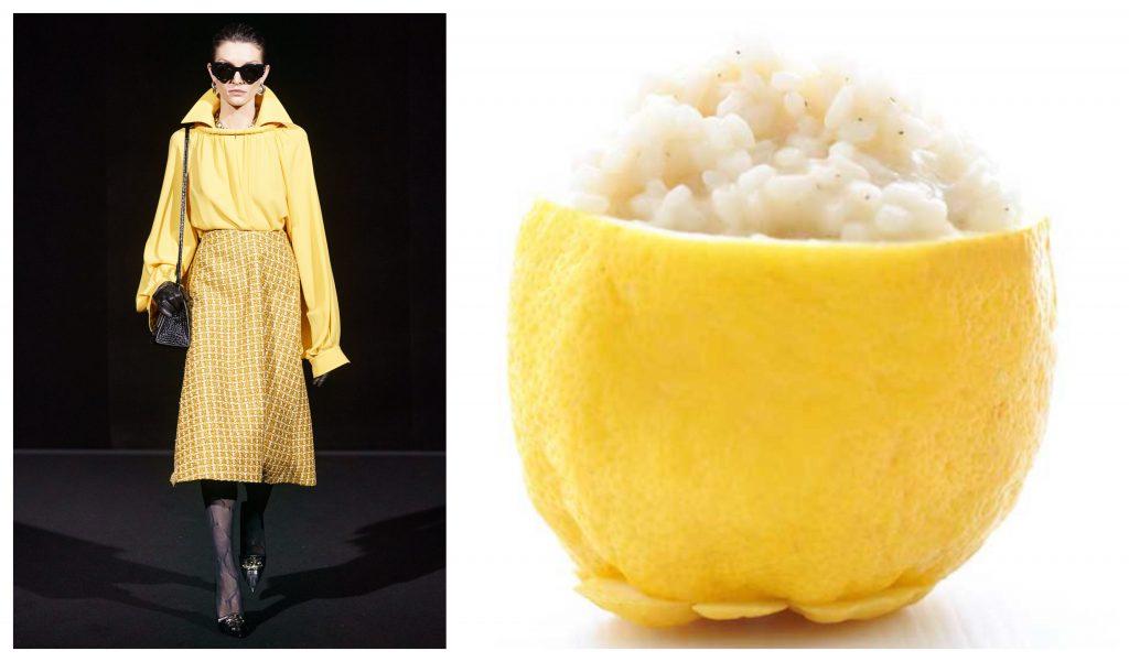 Balenciaga ризотто лимоны