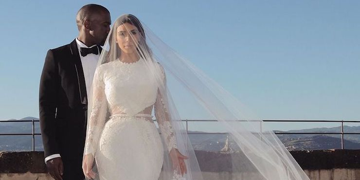Как Ким Кардашьян и Канье Уэст отметили пятую годовщину свадьбы