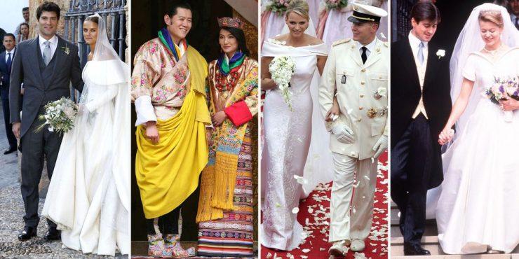 33 королевские свадьбы, о которых мало кто помнит