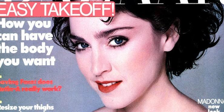 Это BAZAAR: Мадонна на обложке Harper's BAZAAR за 1988 год