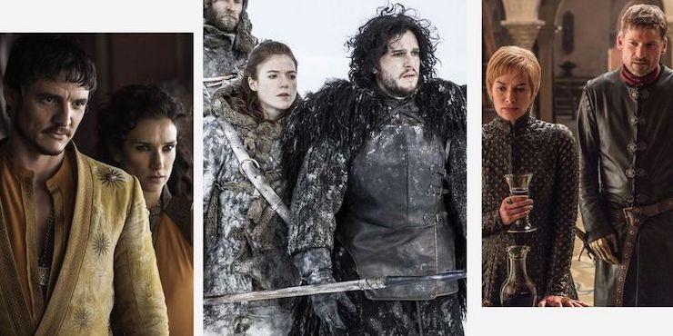 Самые запоминающиеся пары сериала «Игра престолов»