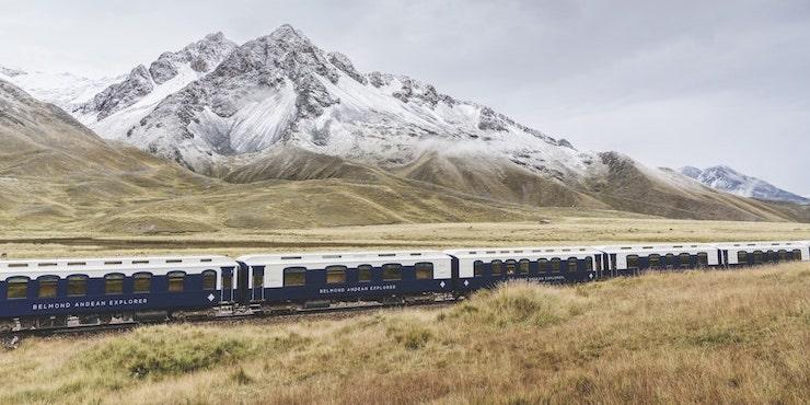 Поезд отправляется в Перу