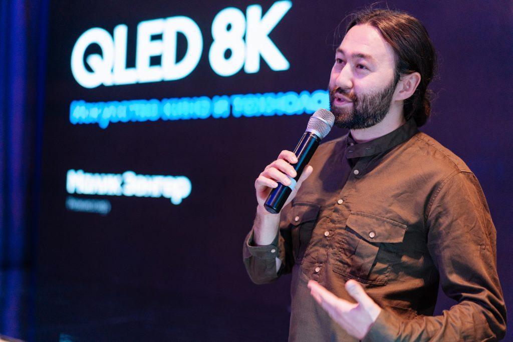 Презентация телевизоров Samsung QLED 8K в Алматы