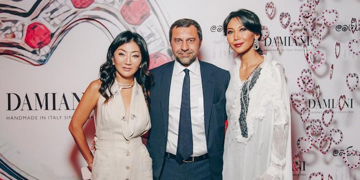 Как прошел благотворительный ужин Damiani в Алматы