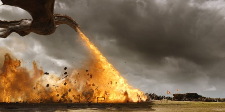 Куда дракон отнес Дейенерис?
