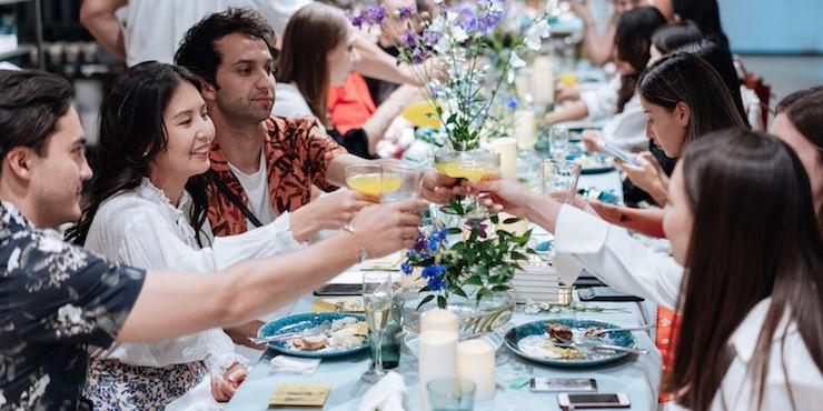 Как прошел ужин в честь открытия H&M Home в Казахстане