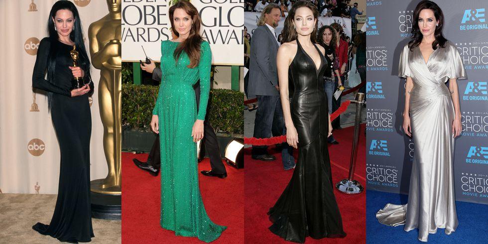 Эволюция стиля Анджелины Джоли
