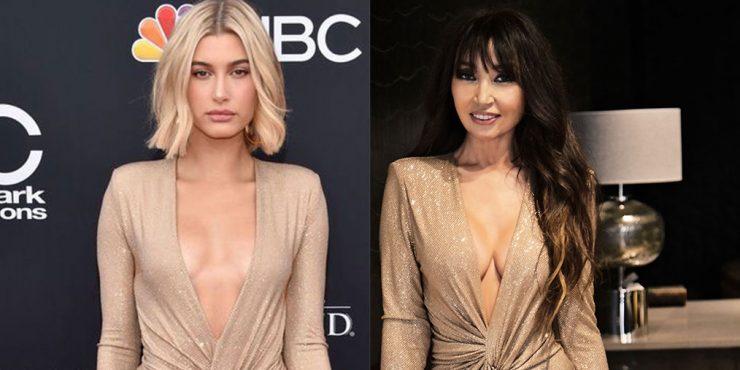 Мадина Сулейменова примеряет платья как у Хейли Бибер и Ирины Шейк