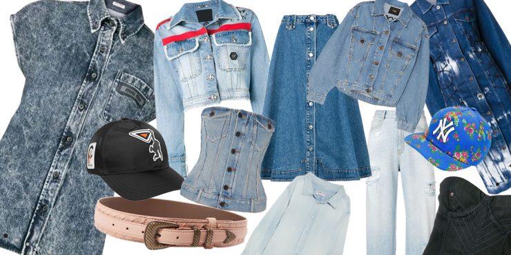 История джинсов: знаковые образы из денима и как их повторить?