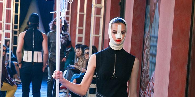 Как создавался макияж для показа Zherebtsov