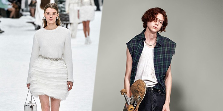 Новая пара: Крис Грикайте и модель-трансгендер Натан Вестлинг