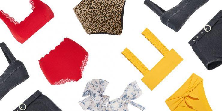 Купальник с завышенной талией: самые модные модели