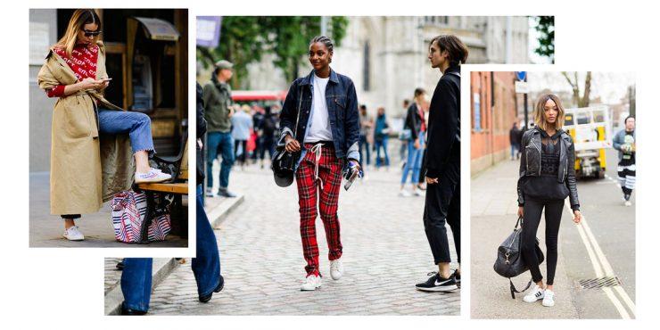 Модные кроссовки: как носить их летом 2019 года