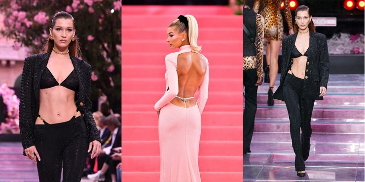 Нижнее белье напоказ: торчащие лямки от трусов снова в моде?
