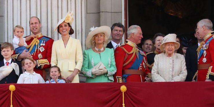 Как прошла церемония Trooping the Colour в Лондоне