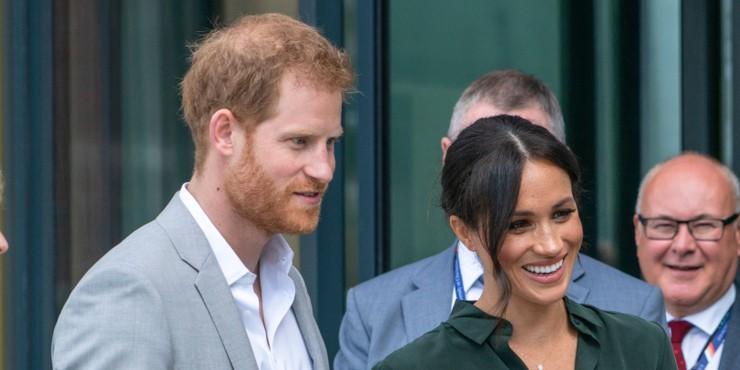 Меган Маркл и принц Гарри поделились новым фото сына