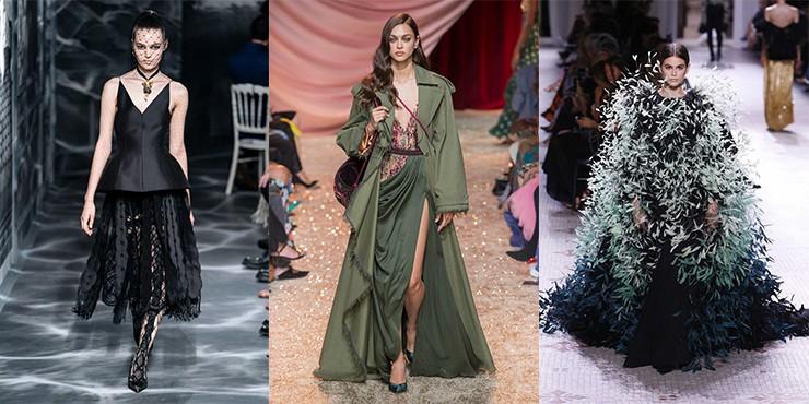 Неделя высокой моды в Париже: лучшие образы