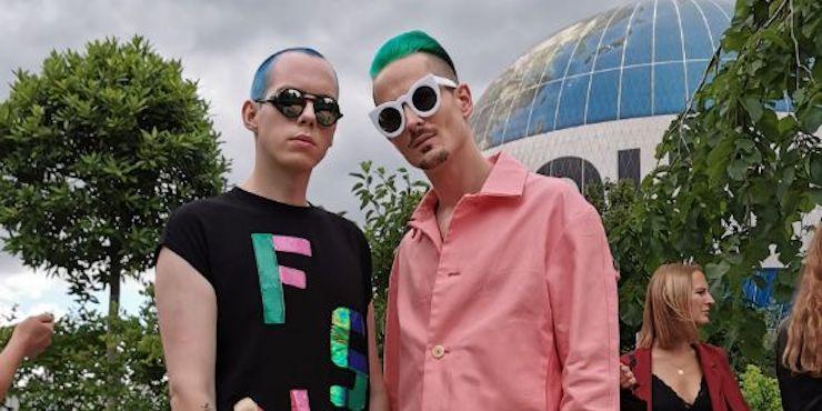 Неделя моды в Берлине: стритстайл