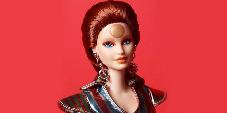Дэвид Боуи стал куклой Барби