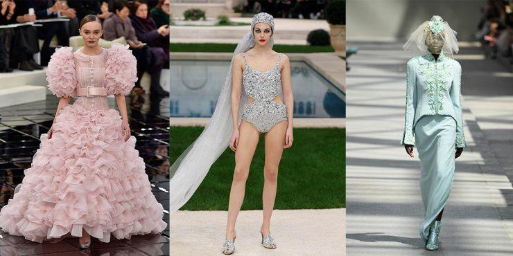 Невеста в стиле Chanel: история свадебного платья мечты