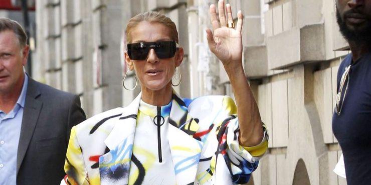 Образ дня: Селин Дион без штанов на Неделе моды в Париже