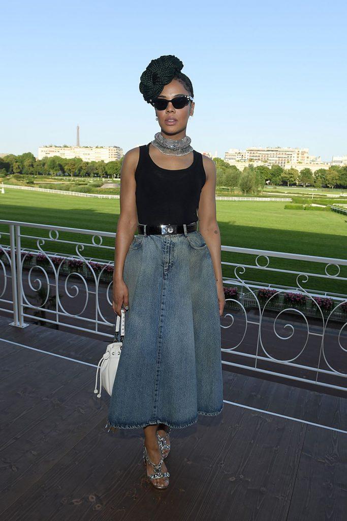 Длинная джинсовая юбка: перезагрузка