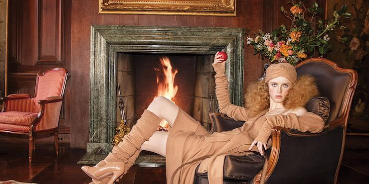 Эклектичный гламур в новой рекламной кампании Michael Kors Collection