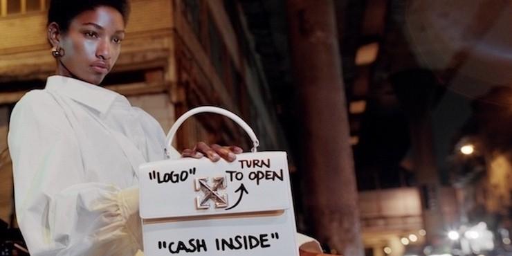 Мечта вора: новая сумка Off-White с инструкцией по ограблению