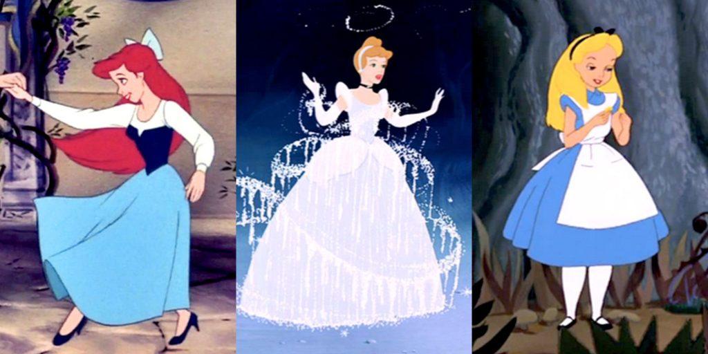 Почему диснеевские принцессы всегда в голубом?