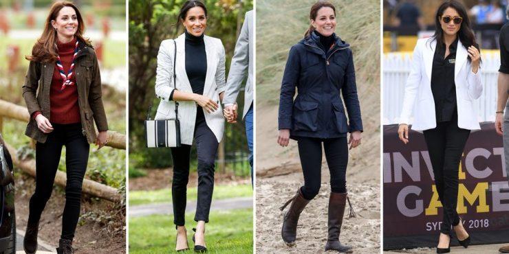 Как носить джинсы по-королевски?