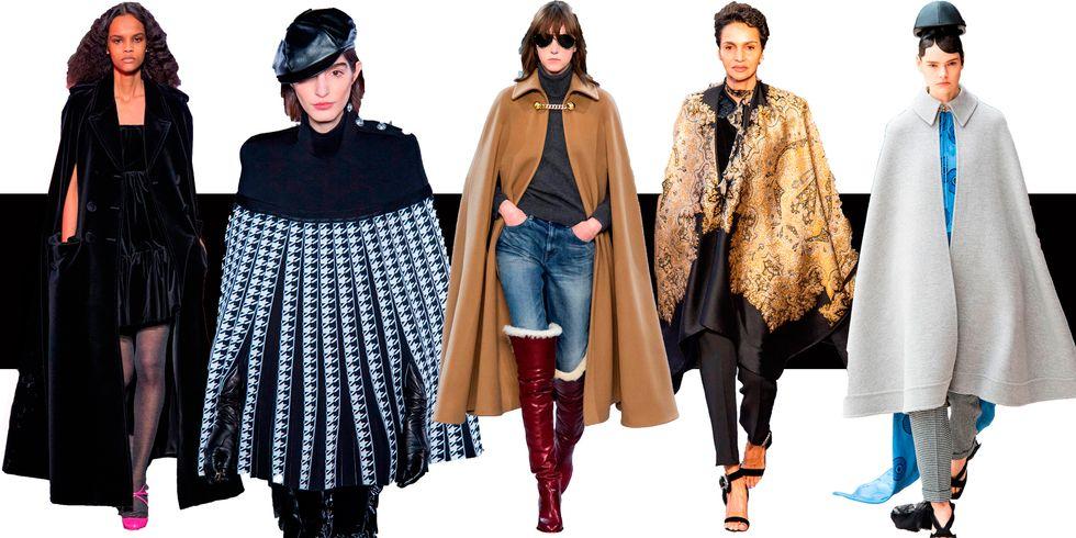 Кейп как модная альтернатива пальто этой осенью