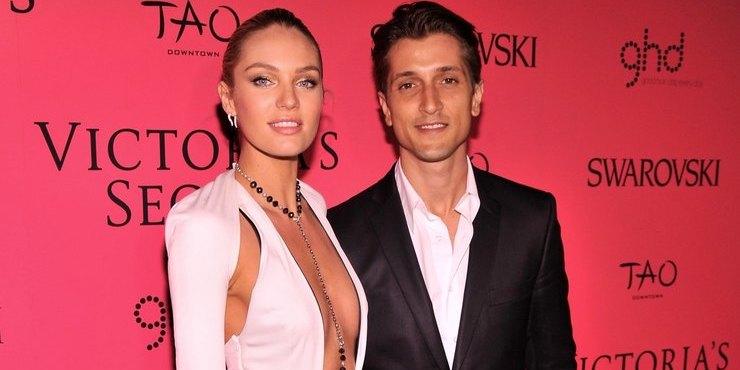 Ангел Victoria's Secret Кэндис Свейнпол рассталась с отцом своих детей