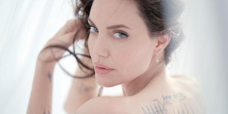 Только в Harper's Bazaar Kazakhstan! Эксклюзивный бекстейдж съемок Анджелины Джоли для Guerlain