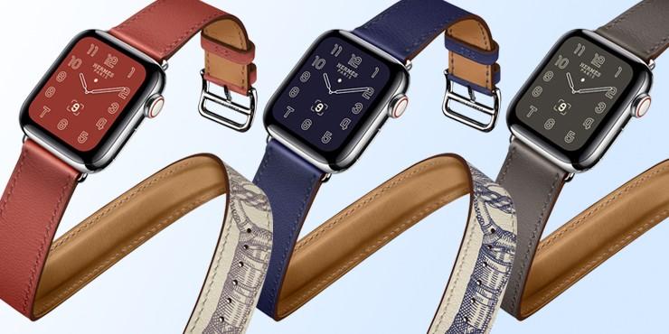 Как выглядят новые часы Apple Watch Hermès