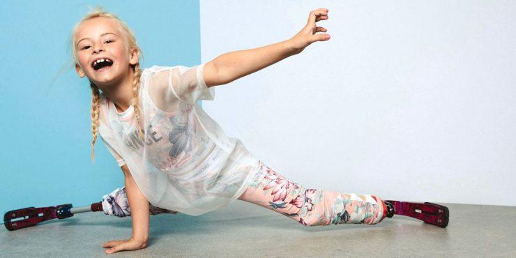 Модель без обеих ног примет участие в Неделе моды в Нью-Йорке и Париже