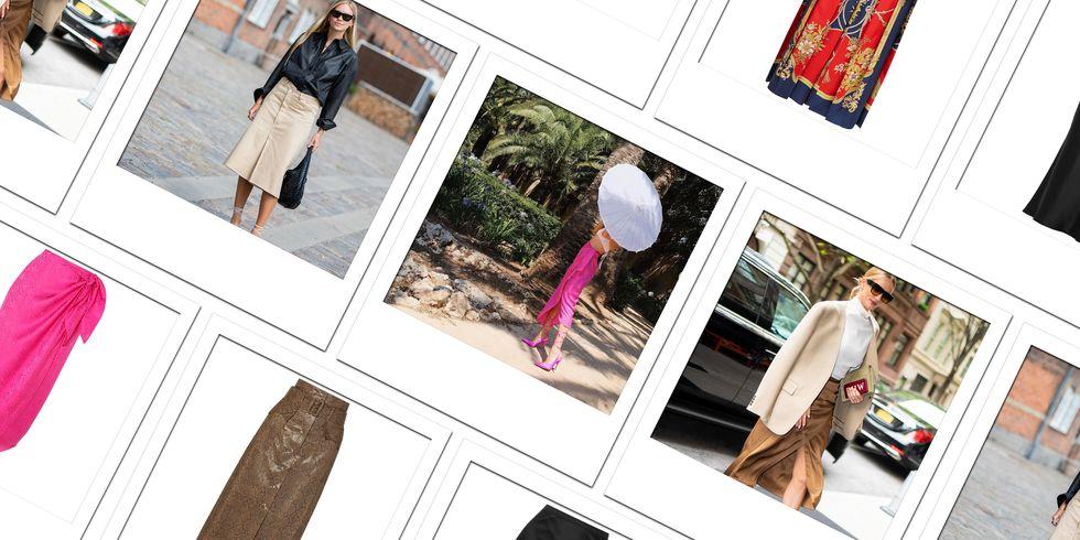 7 способов носить юбку миди: самый лестный предмет вашего гардероба