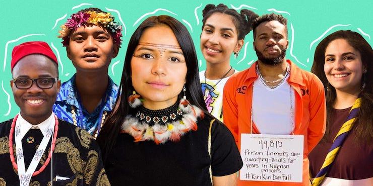 Грета Тунберг и еще 9 молодых эко-активистов