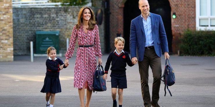 Почему принцесса Шарлотта пошла в школу под другим именем?