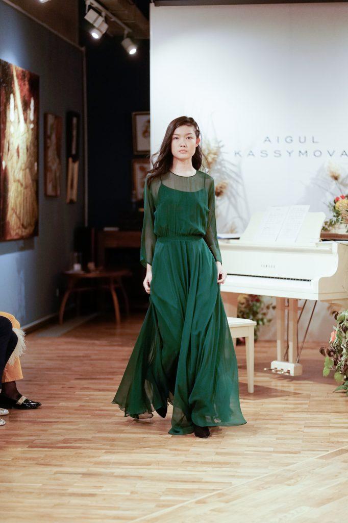 Как прошел показ новой коллекции AIGUL KASSYMOVA?