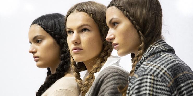 Как повторить прическу с показа Dior весна-лето 2020
